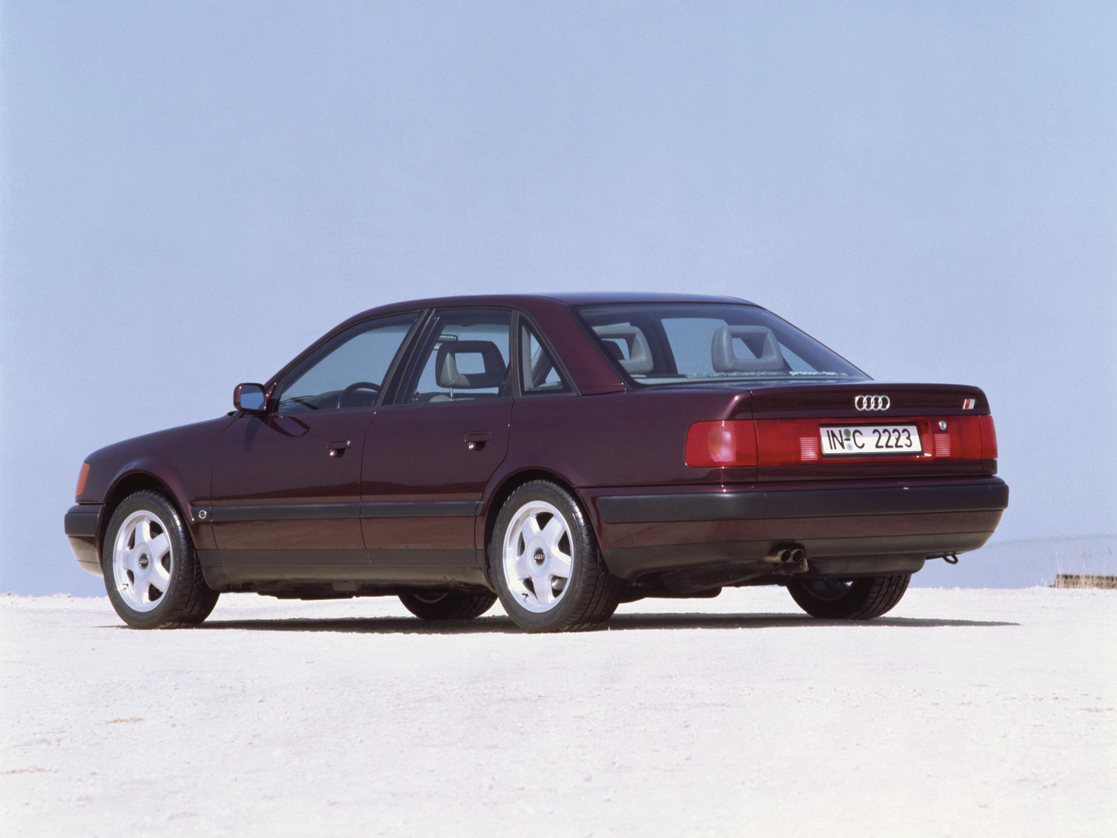 1991 Audi 100 S4 infomation specifications WeiLi